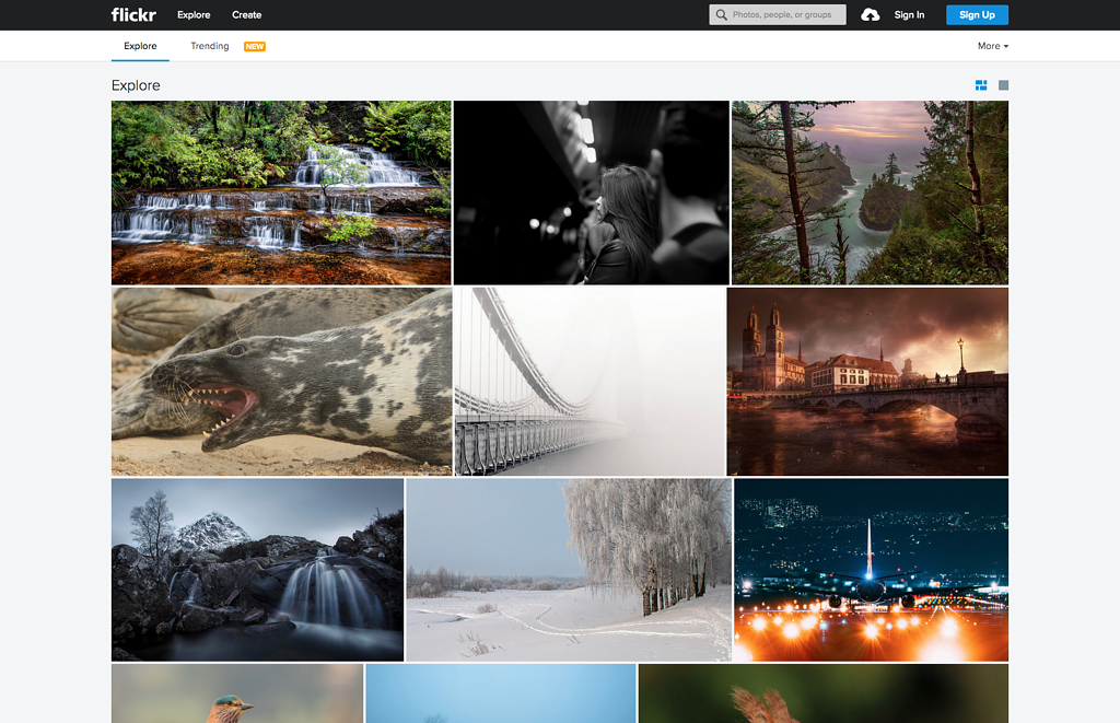 A Flickr Gallery