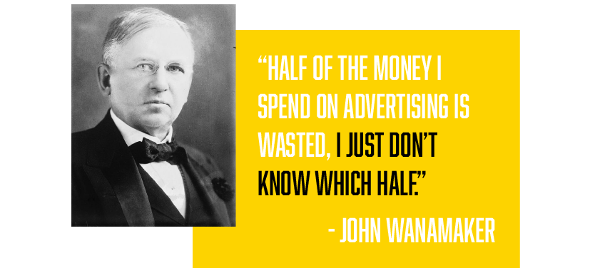 John Wanamaker Marketing Strategy Quote