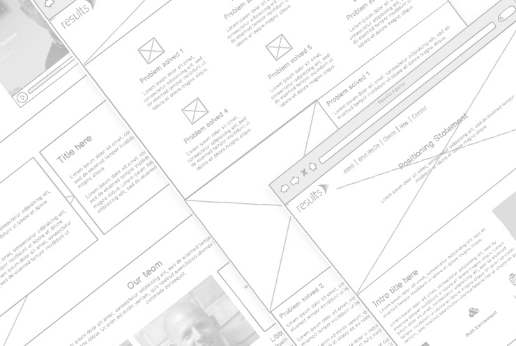 Results-wireframes