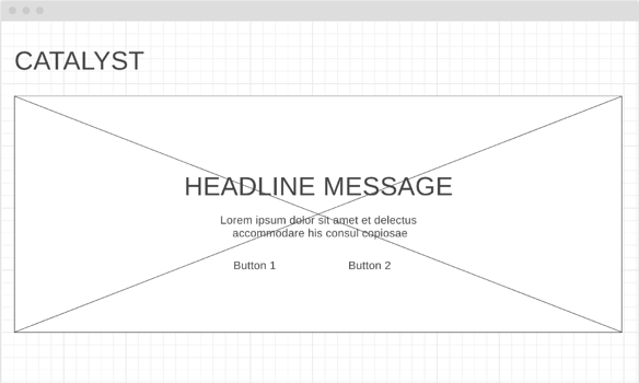 Website Wireframe Example Catalyst