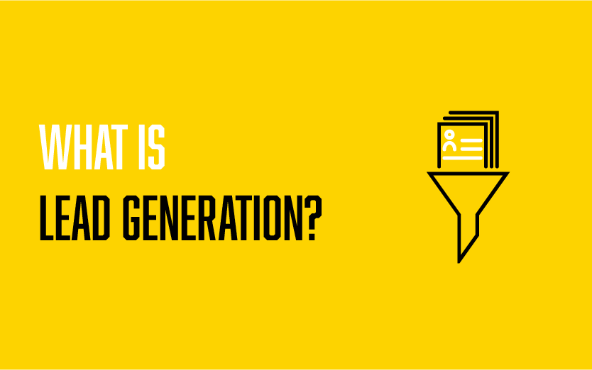 What is lead generation 1-01