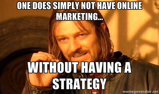 online marketing meme