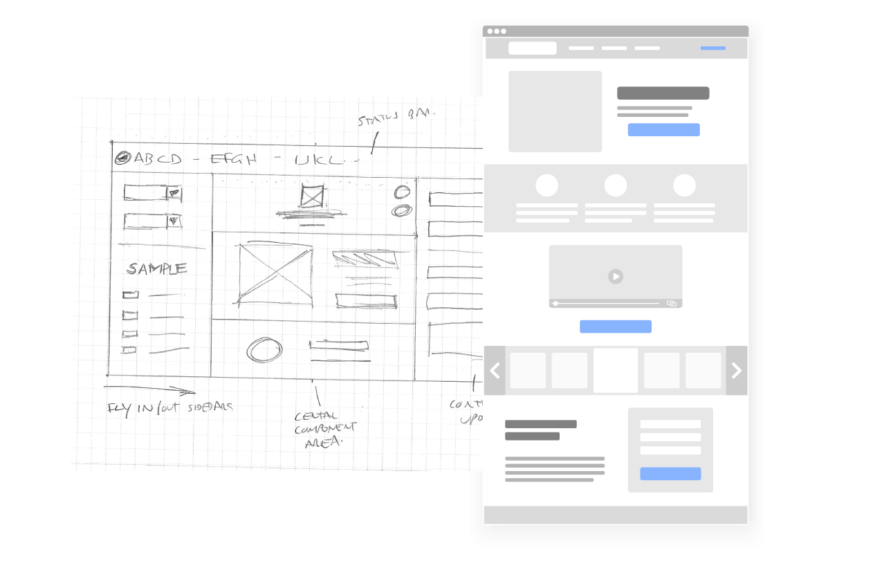 UX and web design services
